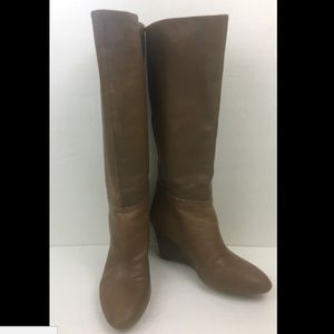 Banana Republic Boots Camel Leather Size 5.5 M